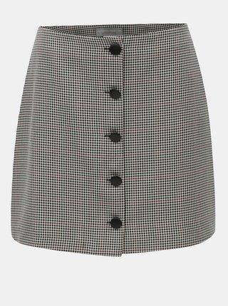 Šedá vzorovaná sukně Dorothy Perkins Petite