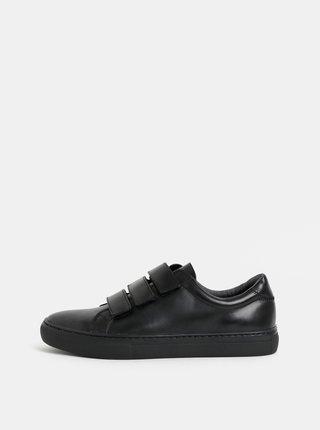 Pantofi sport barbatesti negri din piele Vagabond Paul