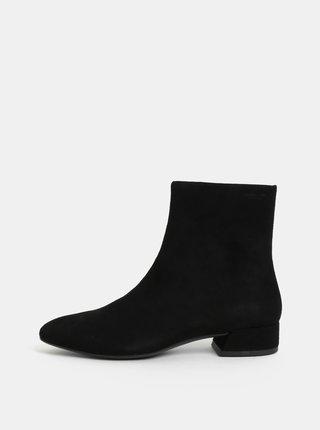 b6661bcb9c15 Čierne dámske semišové členkové topánky Vagabond Joyce