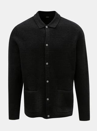 Cardigan negru cu nasturi Burton Menswear London