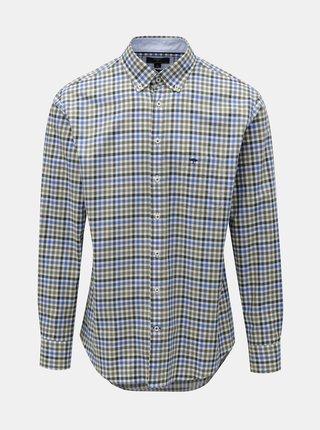 Zeleno-modrá vzorovaná košile Fynch-Hatton