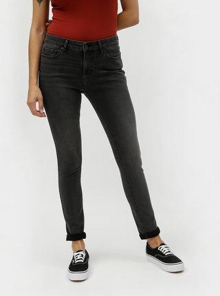 Šedé dámské skinny džíny s vyšisovaným efektem 711 Levi's® Boombox