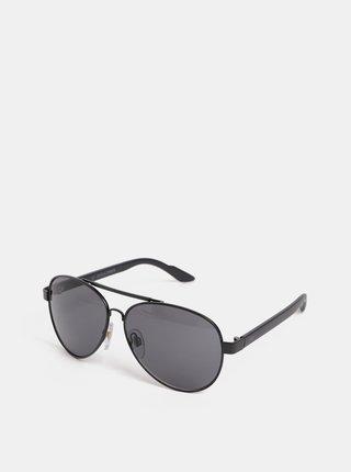 Čierne slnečné okuliare Jack & Jones Fast