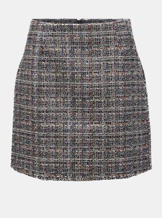 Černo-krémová vzorovaná sukně Apricot