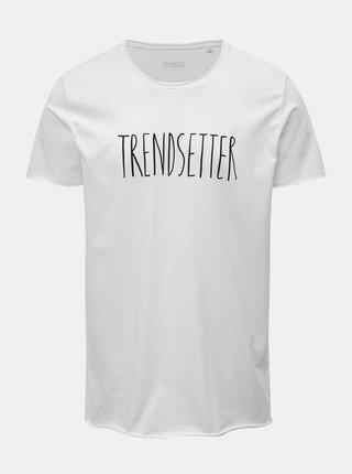 Tricou barbatesc alb cu imprimeu ZOOT Original Trendsetter