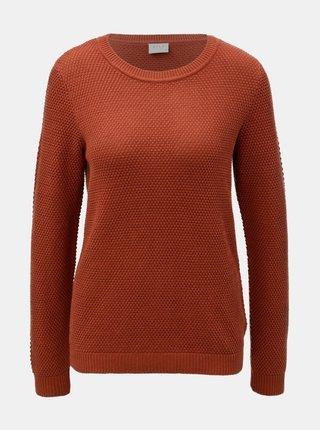 Oranžový svetr VILA Chassa