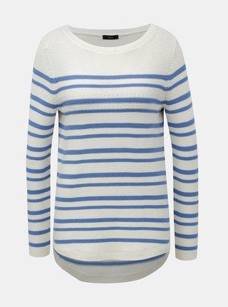 Modro-bílý pruhovaný svetr M&Co