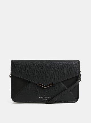 Geanta plic neagra din piele sintetica Paul's Boutique