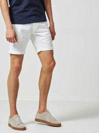 Pantaloni scurti albi straight Selected Homme Paris
