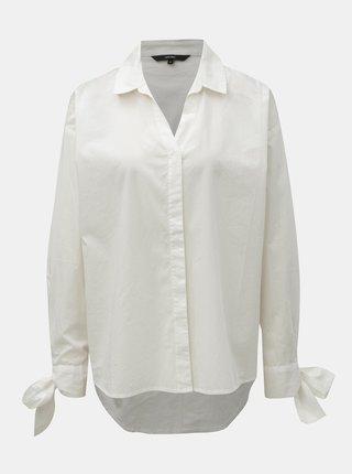 Biela voľná košeľa VERO MODA Flow