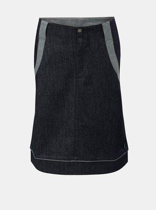 Modrá sukňa s vreckami Tranquillo Andarta