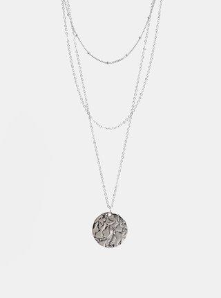 Colier argintiu Pieces Felia