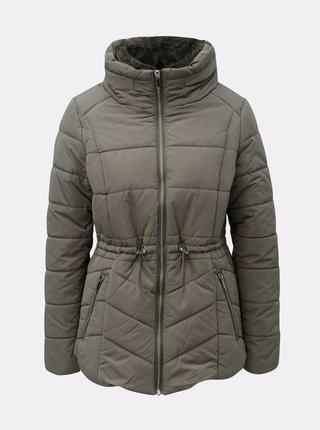 Jacheta kaki matlasata impermeabila de iarna M&Co