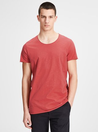 Červené basic tričko Jack & Jones Bas