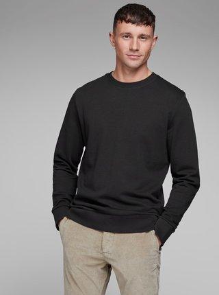 Bluza sport lejera neagra cu maneci lungi Jack & Jones Holmen