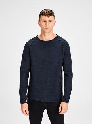 Tmavomodrý sveter Jack & Jones Union