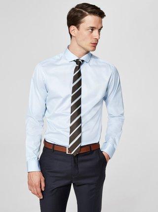 Svetlomodrá formálna regular fit košeľa Selected Homme Regsel