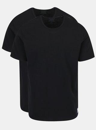 Set de 2 tricouri slim fit negre pentru barbati - Calvin Klein Underwear