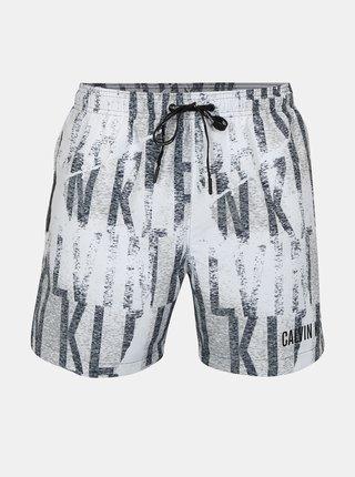 Pantaloni scurti de baie cu print pentru barbati - Calvin Klein Underwear