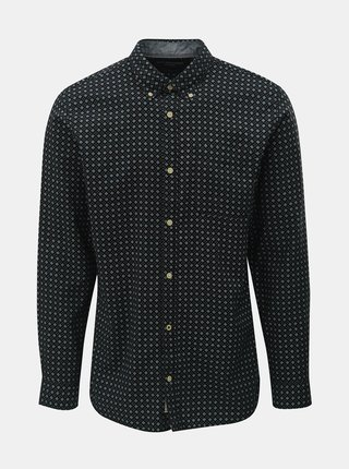Camasa neagra cu model Jack & Jones Brody