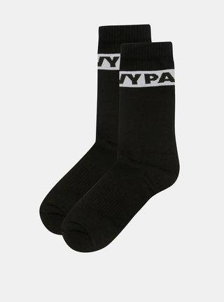Súprava dvoch párov ponožiek v čiernej farbe Ivy Park