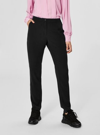 Pantaloni negri Selected Femme Sofia