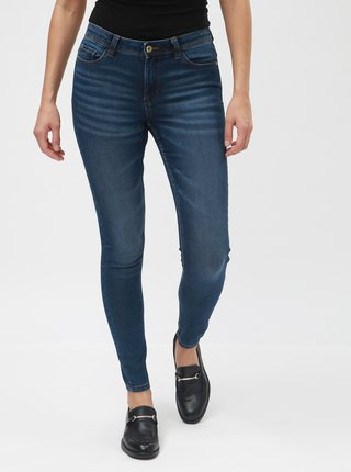 Modré skinny džíny Jacqueline de Yong Ganny