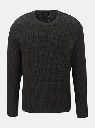 Tmavě šedý svetr ONLY & SONS Doc