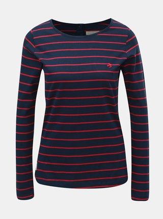 Tricou roz-albastru in dungi de dama Brakeburn
