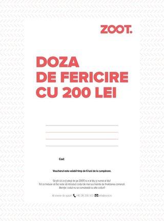 Card cadou electronic in valoare de 200 Lei
