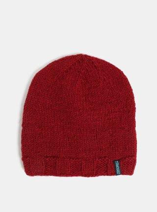 Červená vlnená zimná čiapka Tranquillo Fontei