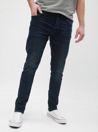 Tmavě modré slim fit džíny ONLY & SONS Spun