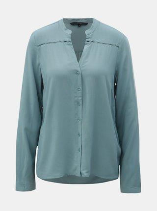 Bluza albastru deschis cu detalii perforate VERO MODA Sandra