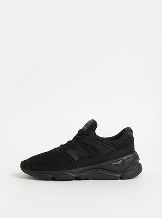 Pantofi sport barbatesti negri cu platforma New Balance X-90