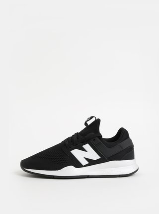 Pantofi sport barbatesti alb-negru New Balance 247