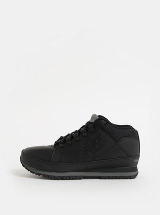 Pantofi sport inalti barbatesti negri din piele New Balance 754