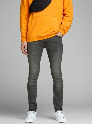 Sivé skinny rifle Jack & Jones Liam
