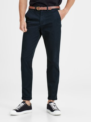 Pantaloni bleumarin chino Jack & Jones Cody