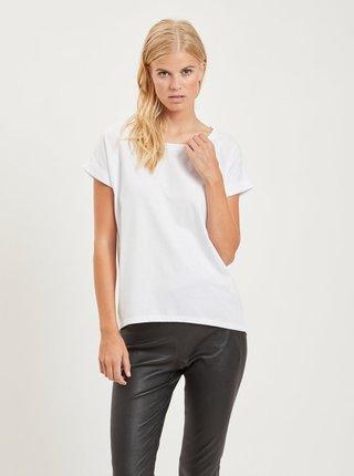 Tricou alb pentru femei - VILA Dreamers