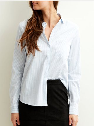 Bielo-modrá pruhovaná košeľa VILA Chau