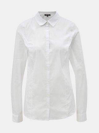 Biela košeľa s dlhým rukávom Yest
