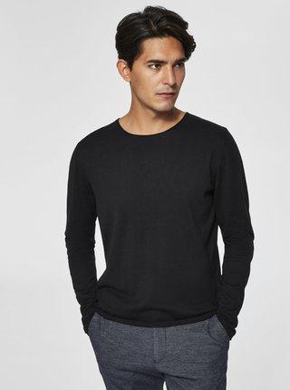 Čierny sveter Selected Homme Dome