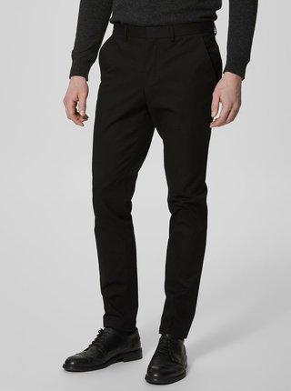 Černé slim kalhoty Selected Homme