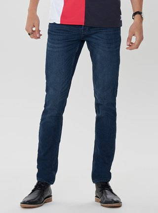 Tmavomodré slim fit rifle ONLY & SONS
