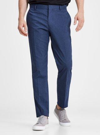 Tmavě modré oblekové kalhoty Jack & Jones Peter
