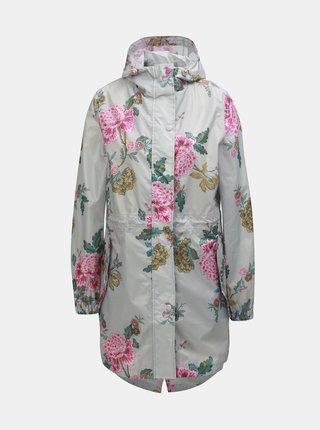 Svetlosivá dámska kvetovaná pláštenka Tom Joule
