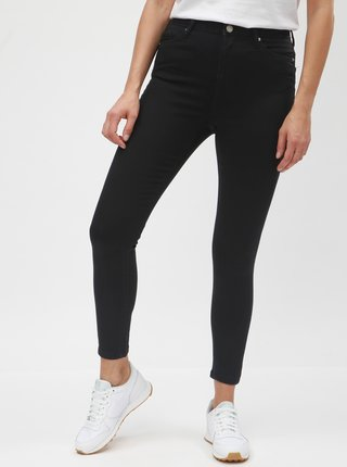 Blugi negri super skinny Miss Selfridge Lizzie