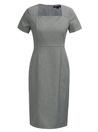 93b97eab5e1a Sivé puzdrové šaty Dorothy Perkins