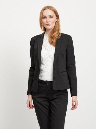 Čierne kostýmové sako VILA Delia