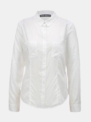 d2128b698696 Biela košeľa s náprsnými vreckami TALLY WEiJL